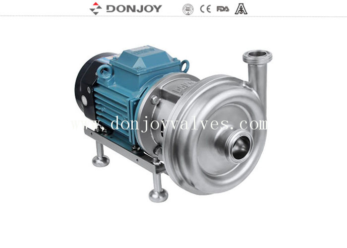 KS - 20 High Purity Pumps Mechanical ABB Motor with open impeller