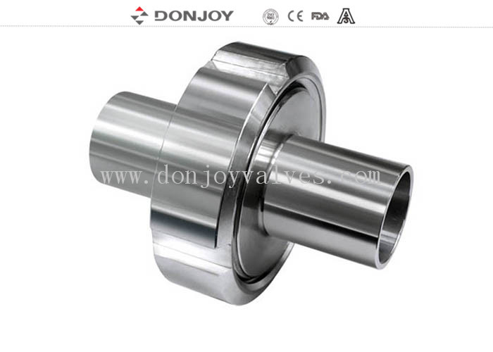 SS304 SS316L SMS ISO Union Stainless Steel Sanitary Fittings DN10-DN150