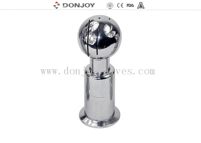 DONJOY Stainless steel sanitray rotating clamped cleaning ball /spray ball