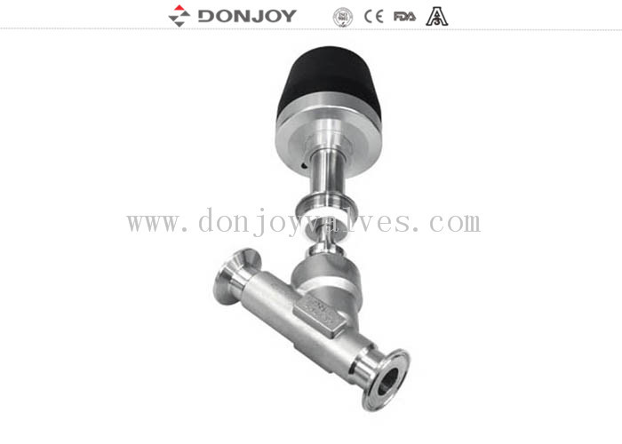 No Dead Angle Seated Valves Ferrule Connection High Purity Pipeline Switch