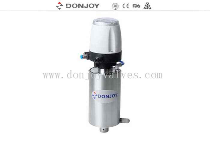 DC 24V Intelligent valve Positioner , angle seat valve 1.5 bar - 7 bar 31 C - TOP units