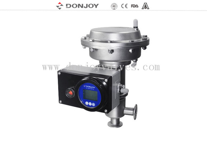 Regulating Fluid Manual / Intelligent Regulating Valve With Square Positioner
