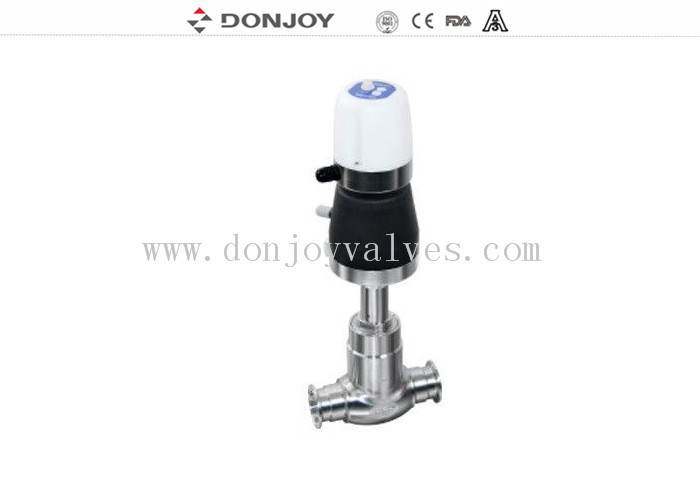 Mini C-Top Regulation Angle Seat Globe Valve Basic / AS-1 Bus Version